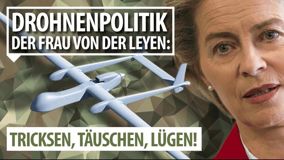 von der Leyen Drohnenpolitik
