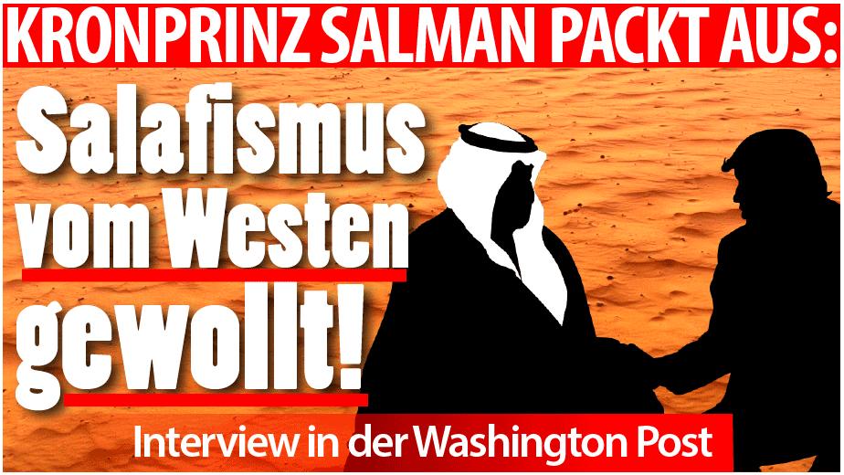 Kronprinz Salman und Trump
