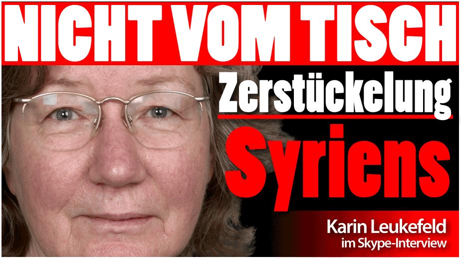 Karin Leukefeld: Vier Kriegsfronten in Syrien