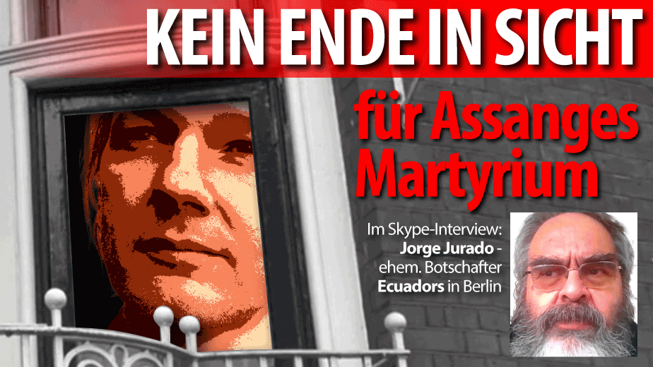Jorge Jurado, ehemaliger Botschafter Ecuadors in Berlin, über Assanges Situation