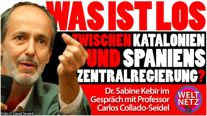 Carlos Collado-Seidel: Was ist los zwischen Katalonien und Spaniens Zentralregierung?