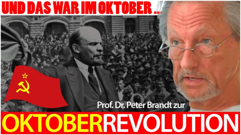 """Peter Brandt: """"Und das war im Oktober..."""""""