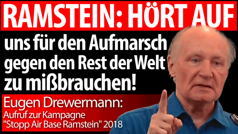 Drewermann Ramstein 2018