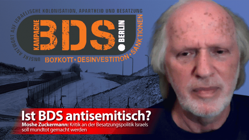 Moshe Zuckermann: Kritik an der Besatzungspolitik Israels soll mundtot gemacht werden
