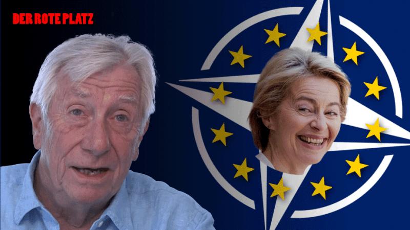 Der Rote Platz #51 mit Wolfgang Gehrcke: Ursula von der Leyen steht für Korruption und Militarisierung