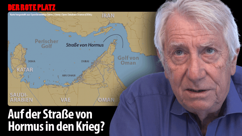 Der Rote Platz #53 mit Wolfgang Gehrcke: USA - EU: Getrennt marschieren, gemeinsam schlagen