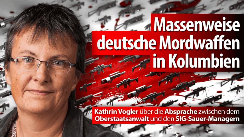 """SIG-Sauer-Urteil: """"Schlag ins Gesicht der Opfer des Waffenschmuggels"""""""