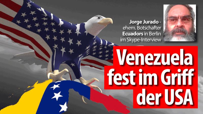 Jorge Jurado über die Situation in Venezuela