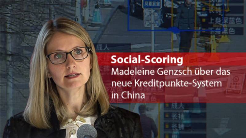 Das neue Social-Scoring-System in China
