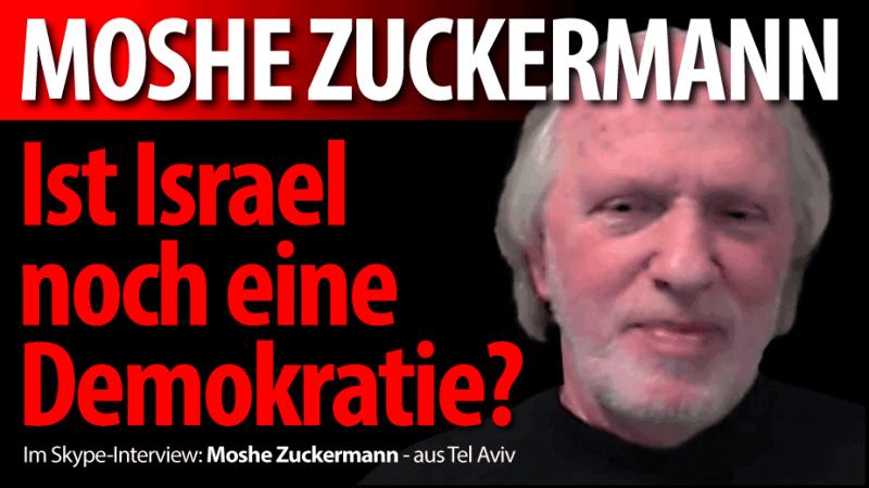 Moshe Zuckermann: Ist Israel noch eine Demokratie?