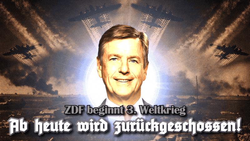 weltnetz.tv sprach mit Uli Gellermann (Journalist und Filmemacher) über diese geschmacklose Entgleisung sowie Verletzung der journalistischen Standards im öffentlich-rechtlichen Fernsehen und warum sie in den deutschen Medien totgeschwiegen wird.