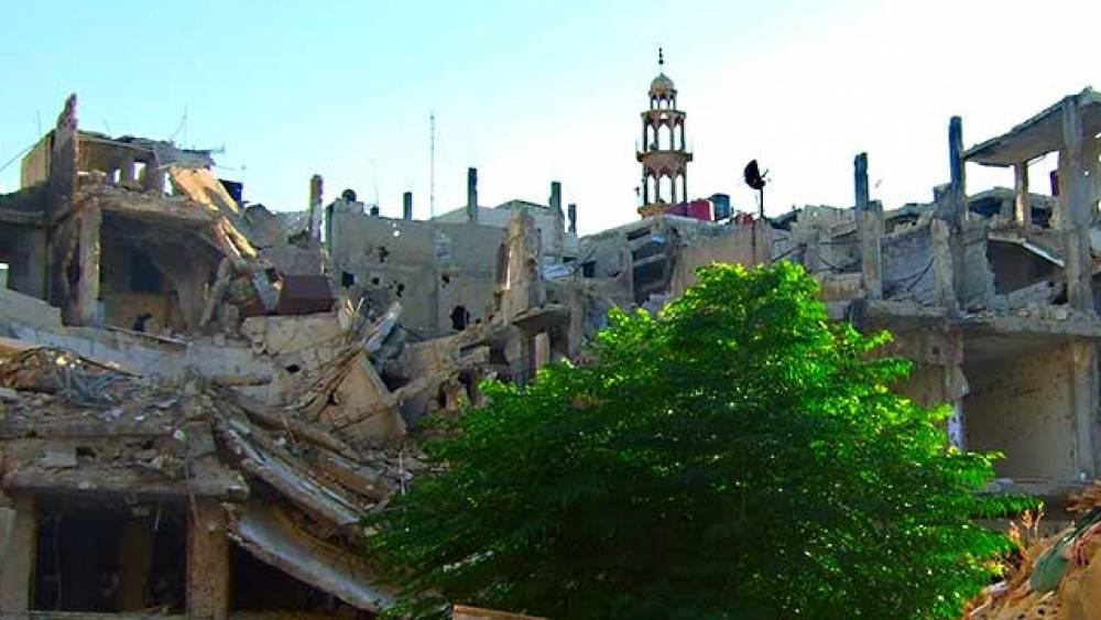 Homs Wadi Sagher war 2012-2014 Frontlinie