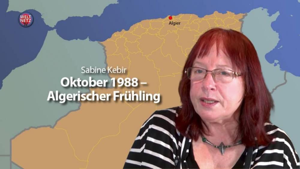 Oktober 1988 – Algerischer Frühling