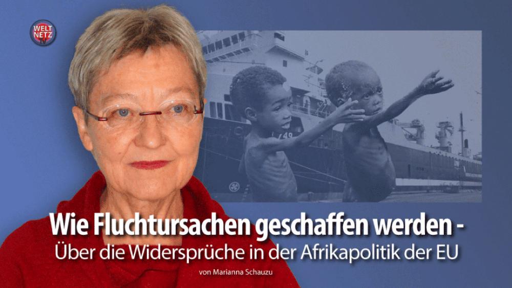 Marianna Schauzu: Wie Fluchtursachen geschaffen werden
