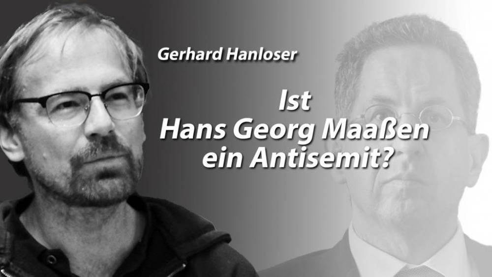 Ist Hans Georg Maaßen ein Antisemit?