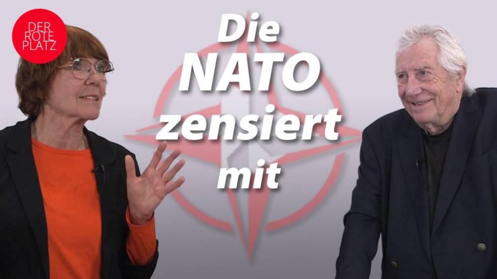 Die NATO zensiert mit bei RT DE, Querdenken, kritischen Geistern