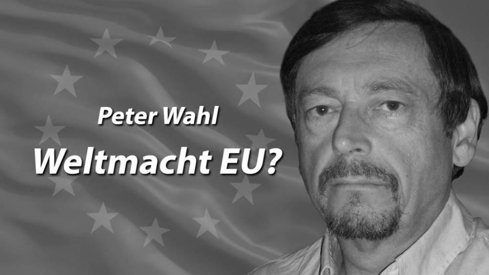 Weltmacht EU? – Nein danke!
