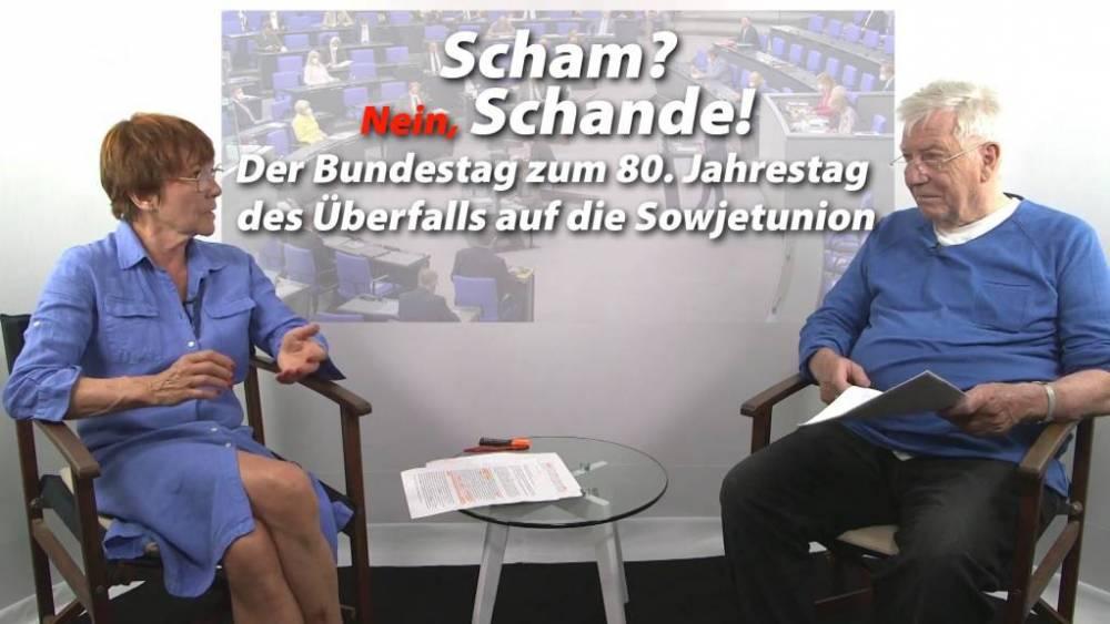 Bundestag zum 80. Jahrestag des Überfalls auf die Sowjetunion